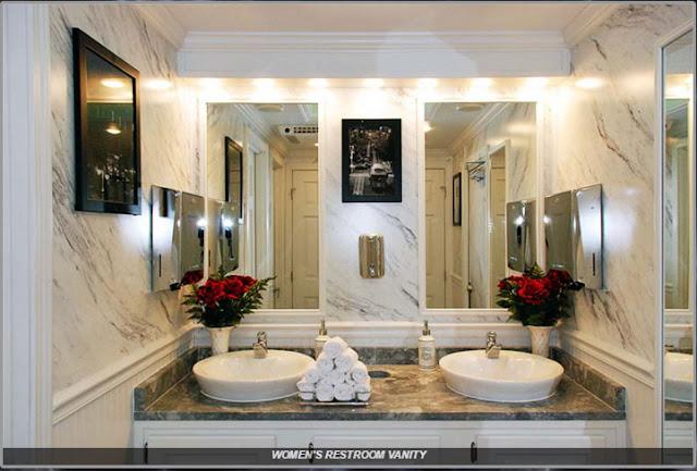 The Plaza Women's Restroom Vanity