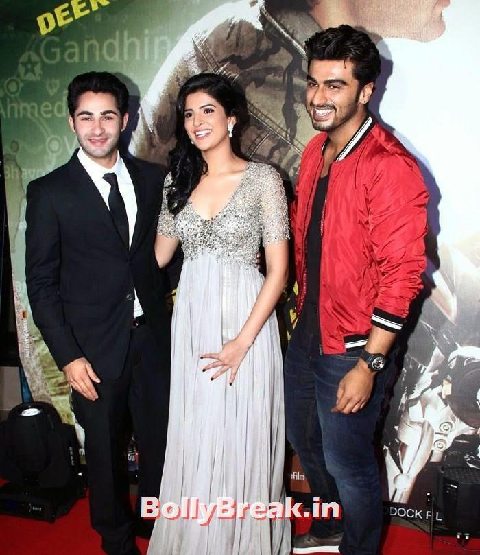 Armaan Jain, Deeksha Seth, Arjun Kapoor