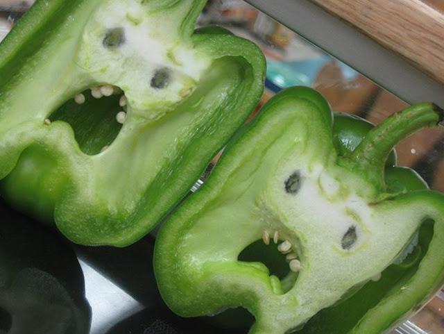 Frutas y verduras que aparentan otra cosa