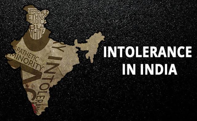 Intolerance in India - myviewsmydrishti