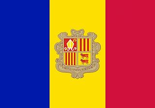 Bendera negara Andorra