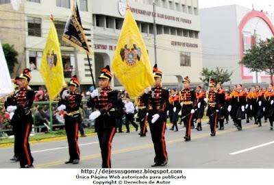 Foto de la Compañía de la IEP Liceo Santo Domingo (El Pinar - Comas). Foto tomada por Jesus Gómez