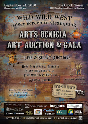 Arts benicia art auction and gala on september 24 2016 - wild wild west Steampunk event