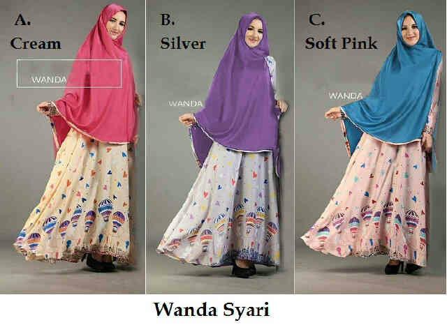 Pusat Grosir Baju Wanita Baju Muslim Wanda Syari 072212
