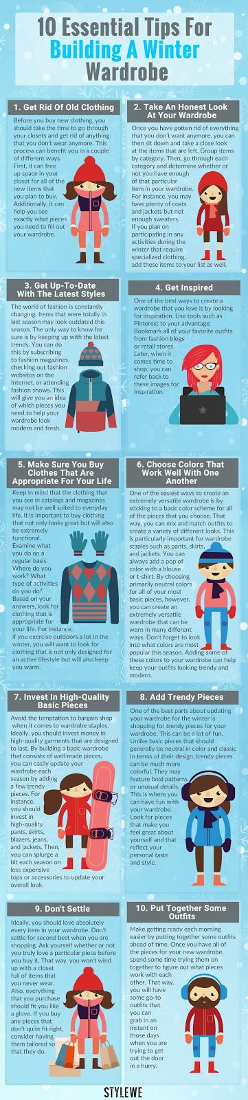 Fashion Tips for the Winter