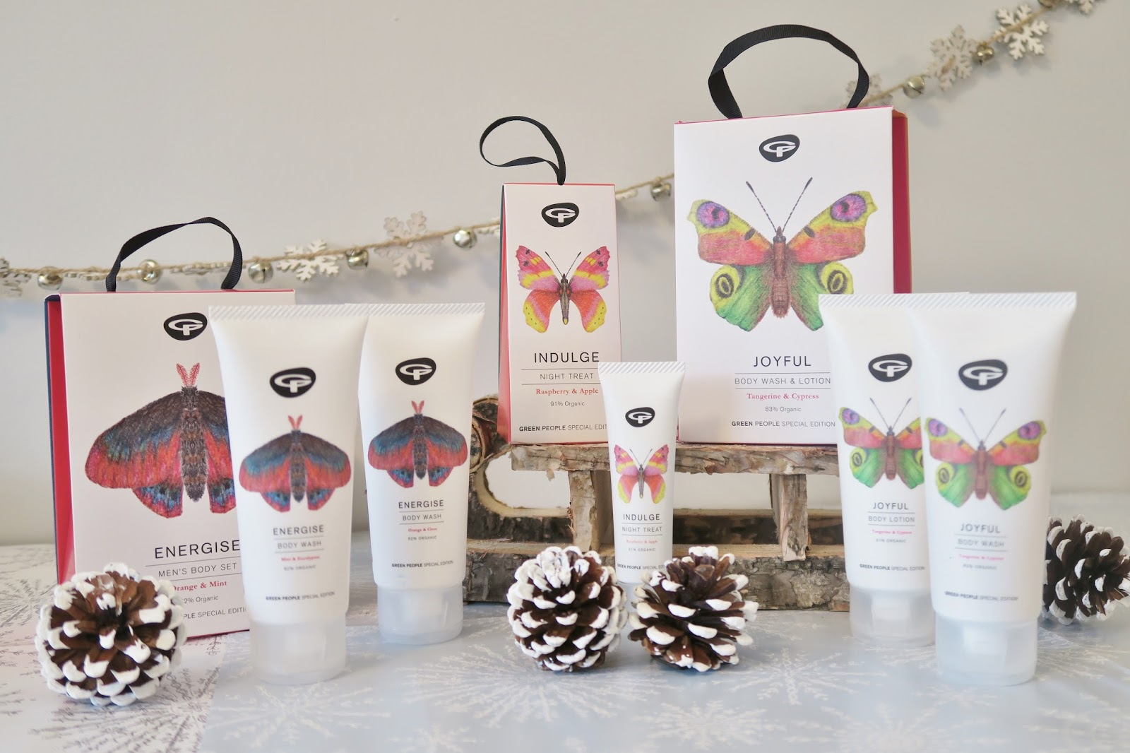 Amber's Beauty Talk Christmas Gift Guides | Green People Organic Butterfly Conservation Gifts