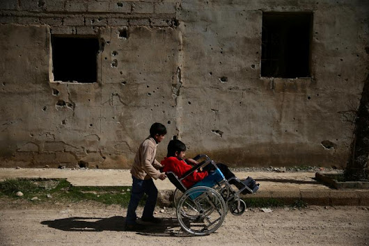 The Syrian War and People with Disabilities - Save Syria