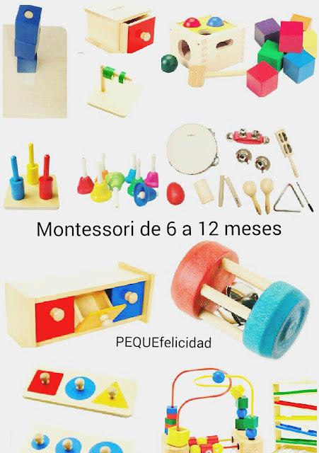 Pequefelicidad Ideas De Actividades De Inspiracion Montessori De 0