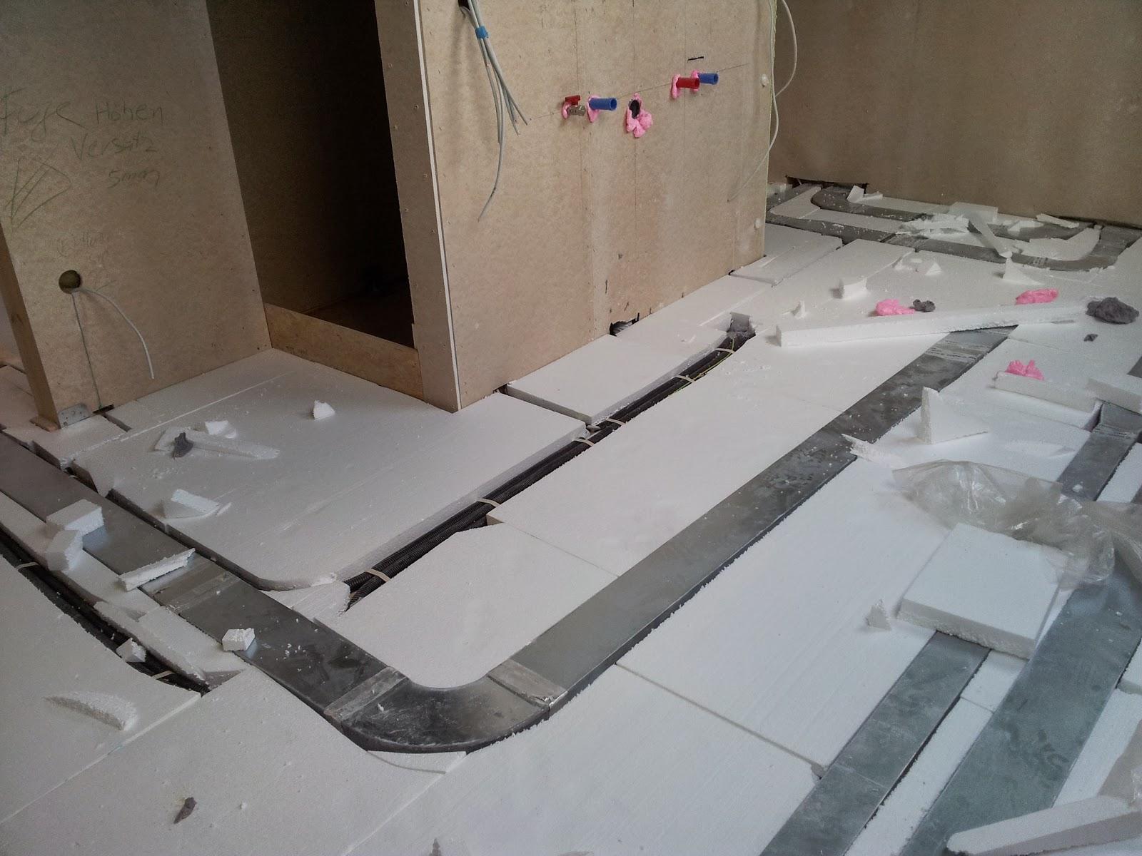 Fußboden Wärmedämmung Verlegen ~ Dämmung fußboden estrich estrichaufbau verschiedene