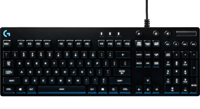 Logitech G810 Orion Spectrum RGB Mechanical Keyboard