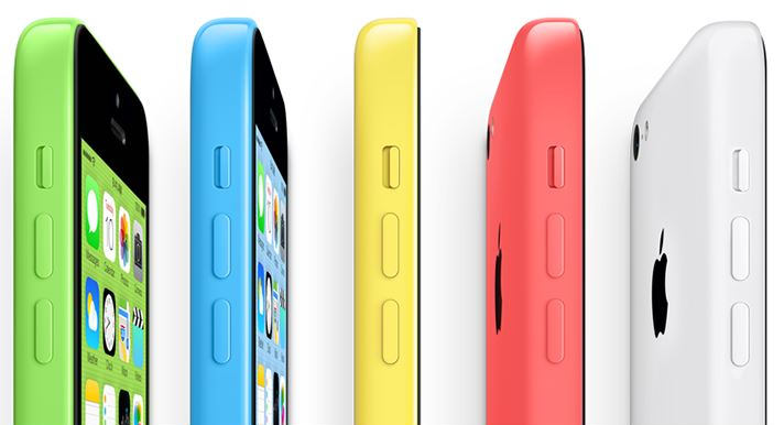 iPhone 5c Lucky Colors