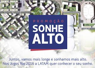 Participar Promoção Latam 2016 Sonhe Alto