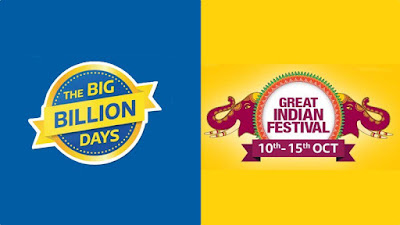 Flipkart Big Billion Days & Amazon Great Indian Sale: Deals on Mobile Phones, Laptops, Gadgets