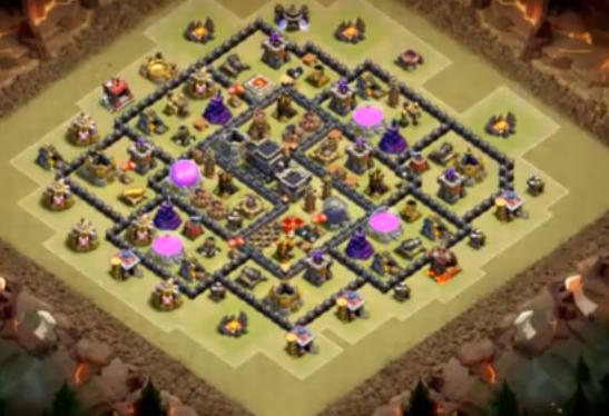 Base War Th 9 Bomb Tower Terbaru Part 2