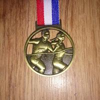 Fitbitches : My Running Medals in 2017 - GroupRun Blackburn 5k Celebration Run