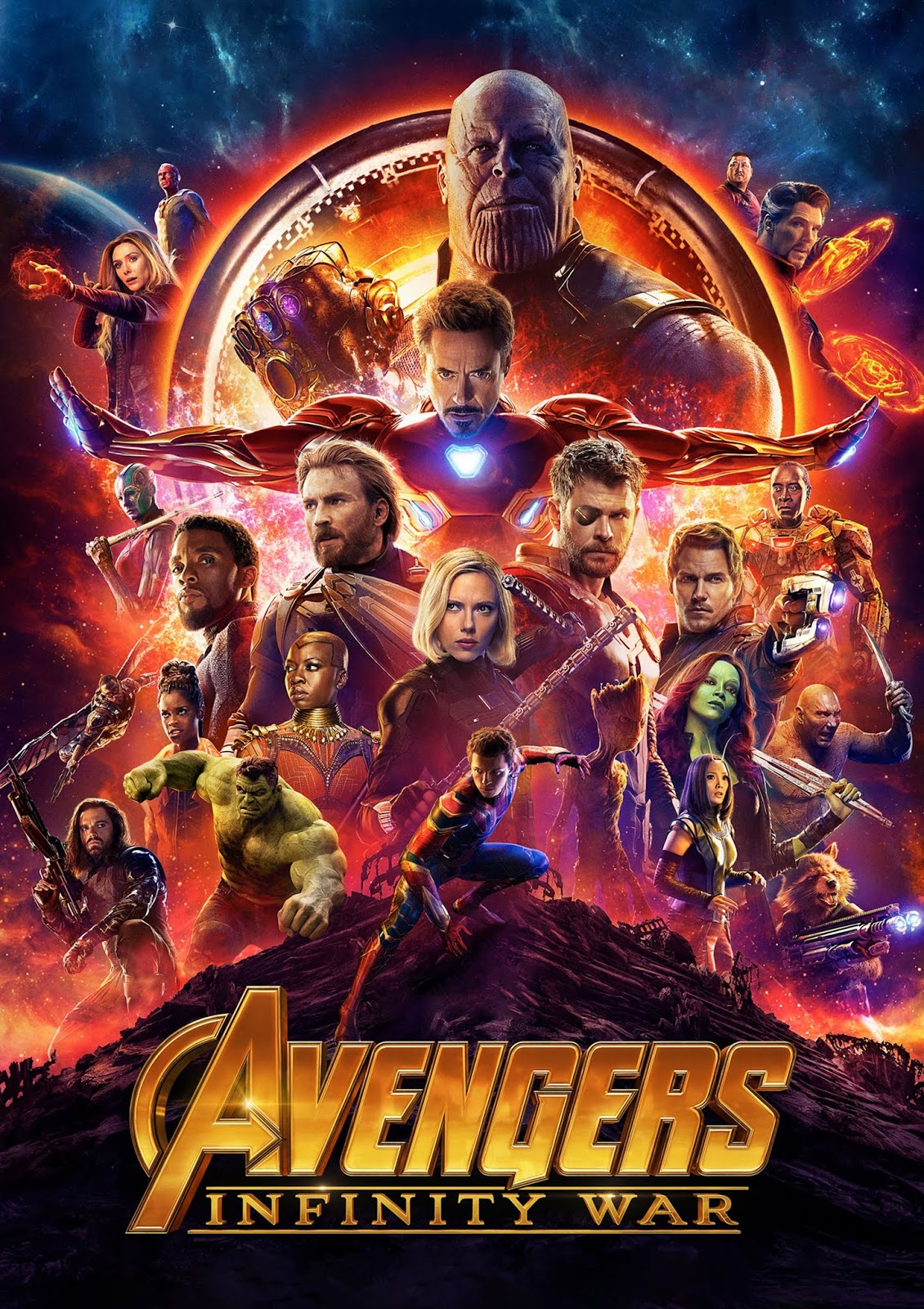 AVENGERS INFINITY WAR  TAMIL DUBBED HD