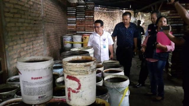 Hati-hati, BPPOM Sumut Sita Lengkong Berformalin Beredar di Pasar Langkat