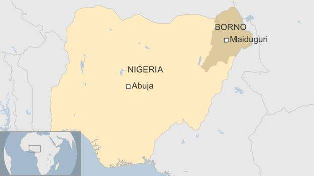 Female bombers target Nigerian camp