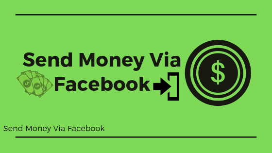 Send Money Via Facebook