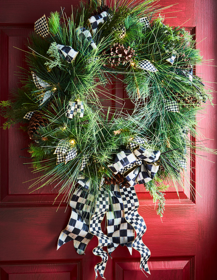 MACKENZIE-CHILDS UNDERPINNINGS WREATH