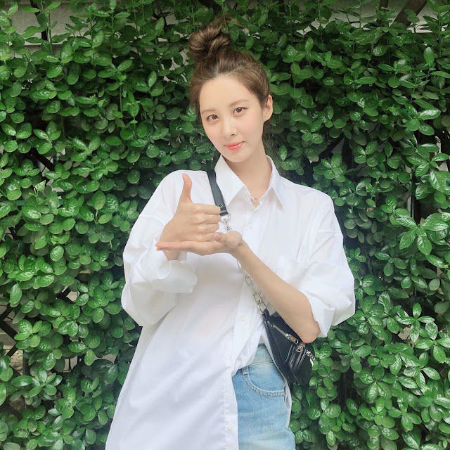 SNSD Seohyun Thanks to Challenge