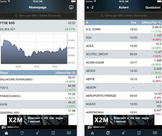 app Borsa Italiana