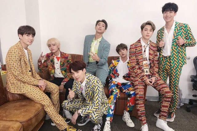 BTS Memenangkan Favorite Social Artist di American Music Awards 2018