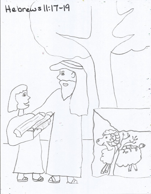 Free coloring pages of 7th day of creation