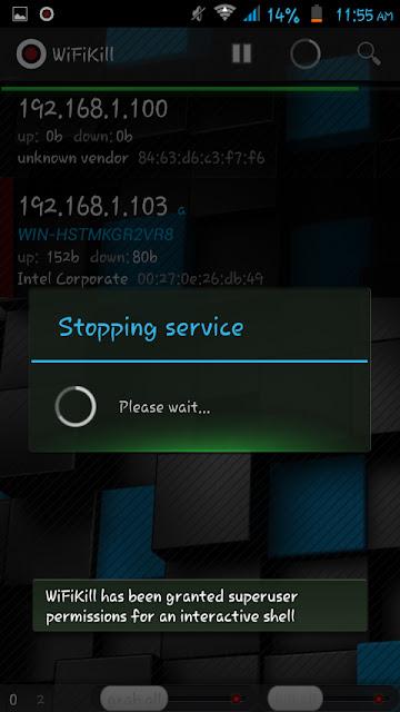 Service Stopped