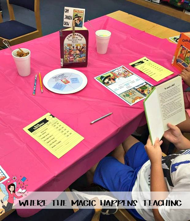 How To Throw A Book Tasting For 2nd Graders Where The Magic Happens