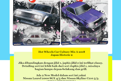 Hot Wheels Car Culture 2018 Mix A : Japan Historic 2