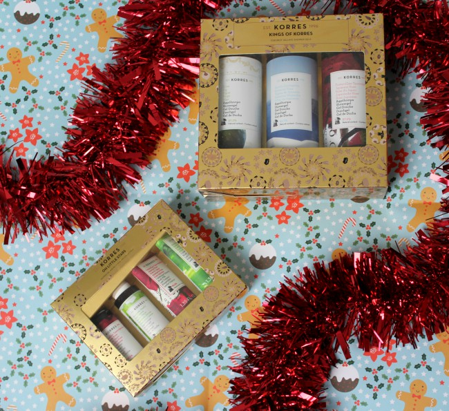 Korres Christmas Gift Sets 2017