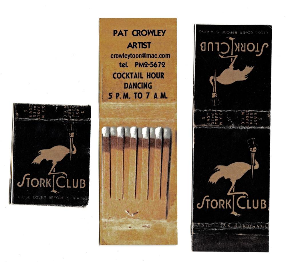 The Hunt Club Pat Crowleys Art Studio Business Card