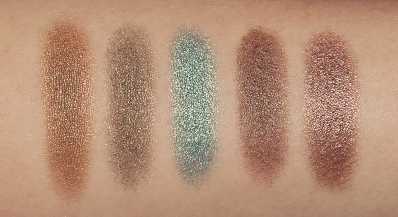 mac eyeshadow collection review swatches sumptuous olive greensmoke steamy club satin taupe