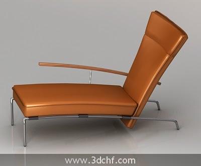 lazy sofa 3d model