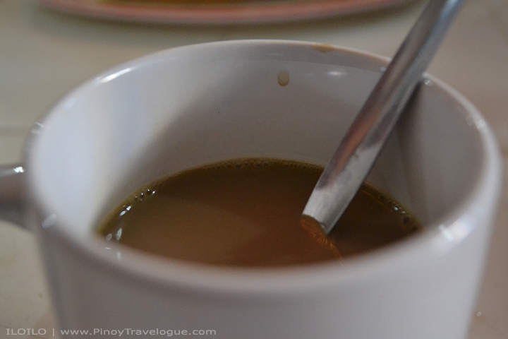 My cup of media tab-ang (mild coffee with milk)