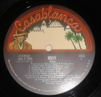 Kiss Casablanca Label