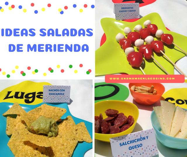 Ideas saladas de merienda
