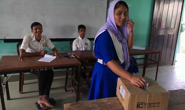 কাঞ্চন নগর বহুমুখী উচ্চ বিদ্যালয়ে কেবিনেট নির্বাচন সম্পন্ন