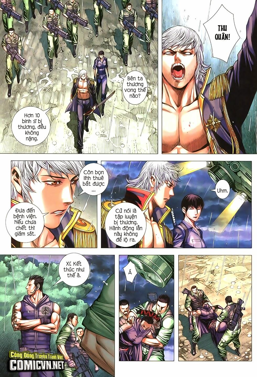 Đại Quân Phiệt chap 21 trang 13