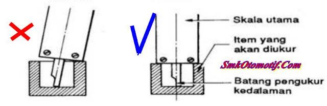 Cara Mengukur Kedalaman Dengan Vernier Calliper