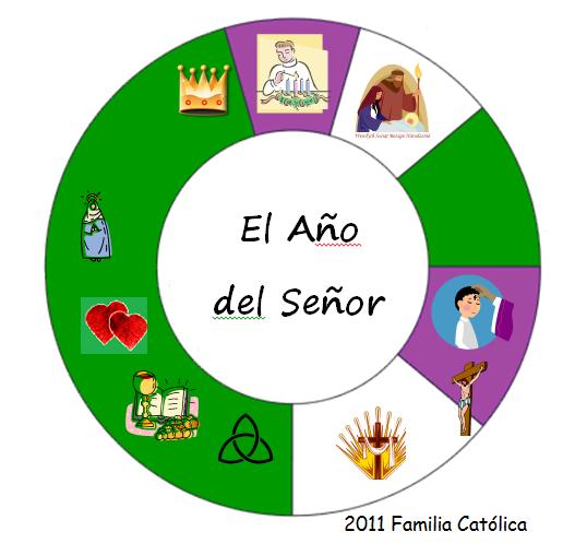 Familia Católica Páginas Para Colorear Para Las Principales Fiestas