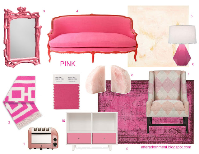 After Adornment Color Cues Pink