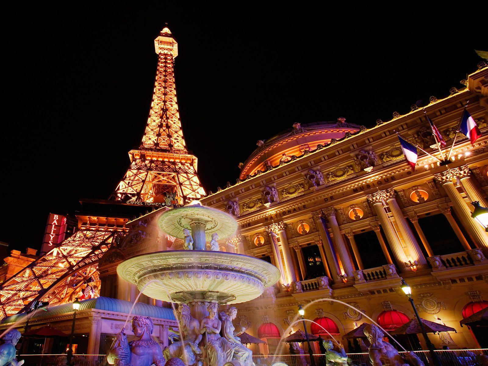 Christmas Lights In A Bedroom Paris Paris Wallpaper Hd