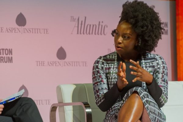 Chimamanda Adichie - The Atlantic Washington Ideas Forum at the Harman Center, Tuesday, September 27 – Thursday, September 29, 2016, Washington, DC. (Photo by Max Taylor)