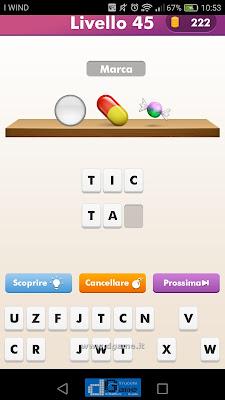 Emoji Quiz soluzione livello 45