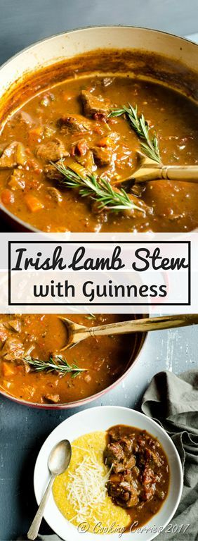 IRISH LAMB STEW WITH GUINNESS