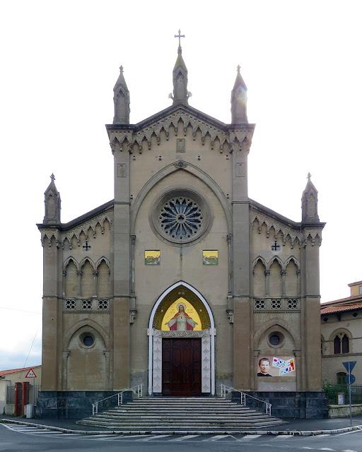 Chiesa del Sacro Cuore, viale Risorgimento, Livorno