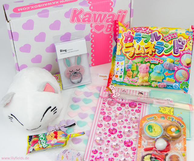 Kawaii Box - unboxing  Janaur 2017
