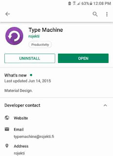 Type Machine apk download